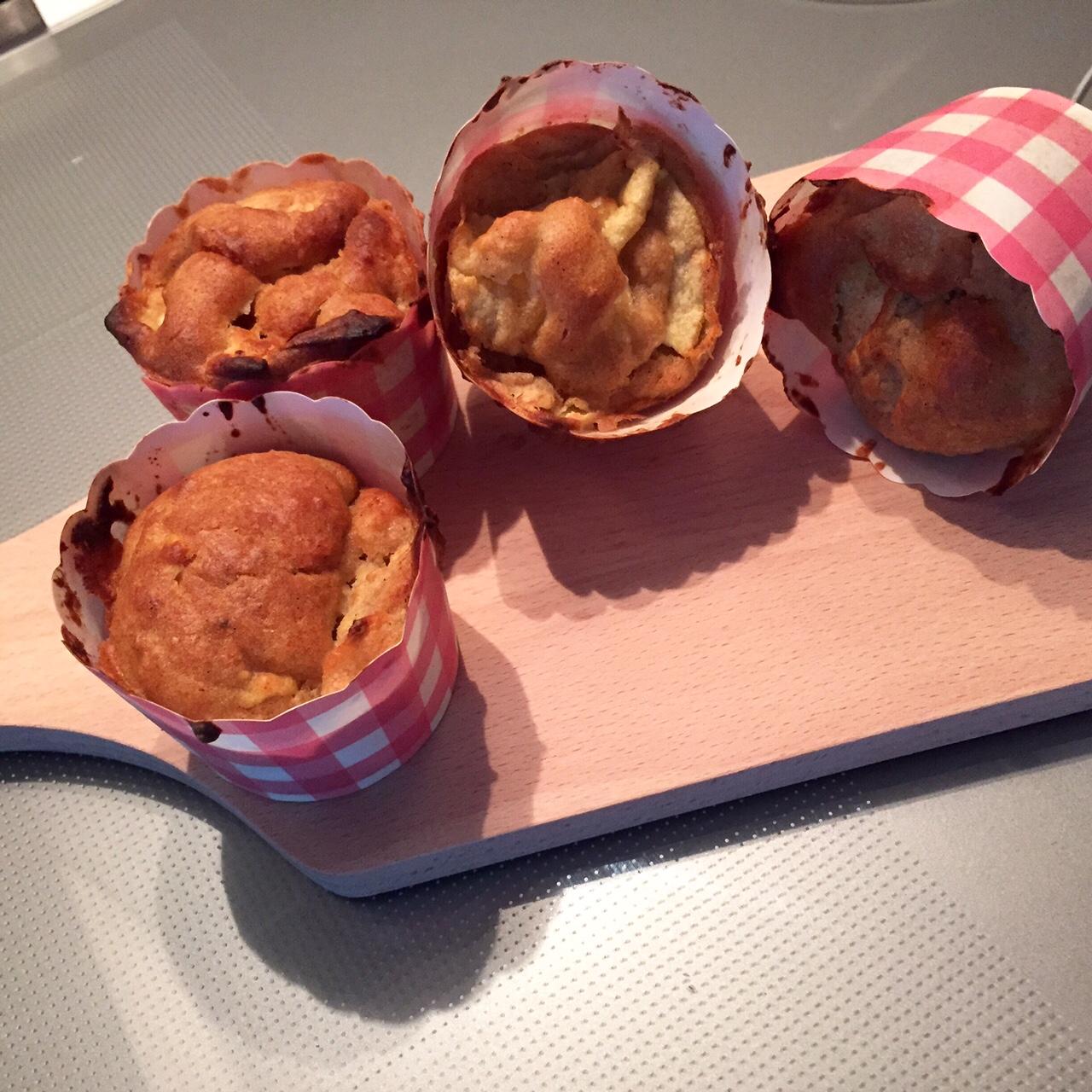 vegan healthy muffins aux pommes p 226 te 224 choux