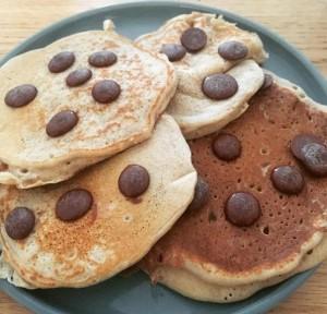 Sans pancakes choco